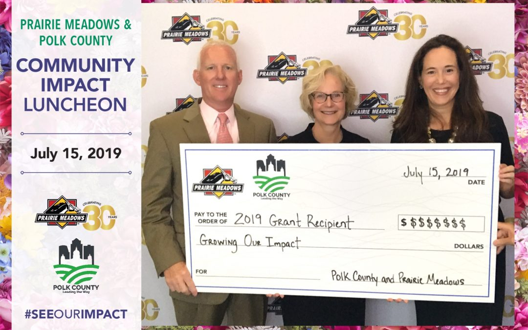 Prairie Meadows Donates $500,000 to ChildServe