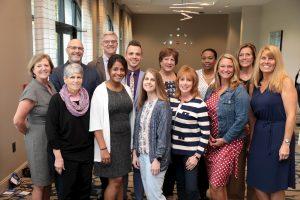 Pediatric Complex Care board members group photo